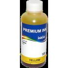 Чернила для Epson T50, P50, R270, L800, XP33, XP103 и др, InkTec (E0010-100MY) Yellow, для картриджей T0804, T0814, T0824, T1714, 100 мл