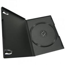 Футляр на 1 DVD (slim) 9 мм, глянцевый, черный