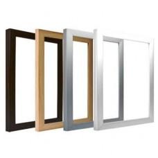 Рама для фоторамки-холста А5: белая, серая, коричневая