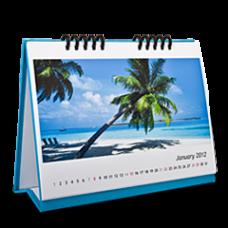 Календарь настольный с цветной подставкой из картона (А5, 200 гр, 13 листов)