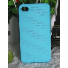 Чехол для iPhone 4/4S с покрытием Soft Touch (шелк) пластиковый с пластиной для сублимации: белый, черный, прозрачный, цветной