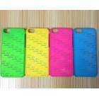 Чехол для iPhone 5/5S с покрытием Soft Touch (шелк) пластиковый с пластиной для сублимации: белый, черный, цветной