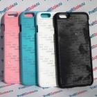 Чехол для iPhone 6 с покрытием Soft Touch (шелк) пластиковый с пластиной для сублимации: белый, черный, цветной