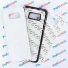 Чехол для Samsung S8 plus пластиковый с пластиной для сублимации: белый, черный, прозрачный