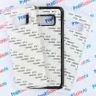 Чехол для Samsung S8 пластиковый с пластиной для сублимации: белый, черный, прозрачный