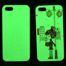 Чехол для iPhone 6 plus, 3D, люминесцентный (светится в темноте) сублимационный, подходит для вакуумной машины
