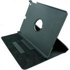 Чехол-книжка для iPad Air, поворачивающийся на 360 градусов, для сублимации, черный