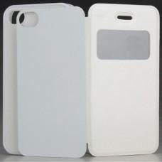 Чехол-книжка для iPhone 4/4S с пластиной для сублимации. Цвет: белый, черный, цветной