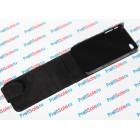 Чехол-раскладушка для iPhone 4/4S с белым полем, черный