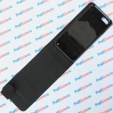 Чехол-раскладушка для iPhone 7 и iPhone 8 с белым полем, черный