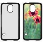 Чехол для Samsung S5 пластиковый с пластиной для сублимации: белый, черный, прозрачный, цветной