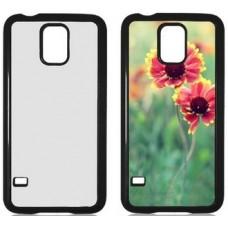 Чехол для Samsung Galaxy S5 пластиковый с пластиной для сублимации. Цвет: белый, черный, прозрачный, красный, розовый, голубой