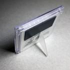 Рамка магнитная с ножкой под полиграфическую вставку, прозрачная
