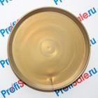 Тарелочка сувенирная, на магните, с возможностью подвески на гвоздь, бронза-металлик, 75 мм