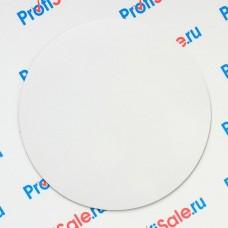 Магнит виниловый круглый 95 мм для сублимации, 5 штук в упаковке
