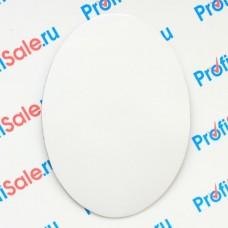 Магнит виниловый овальный 90х65 мм для сублимации, 5 штук в упаковке