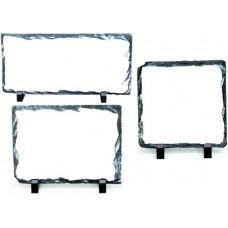 Фотокамень квадратный и прямоугольный для сублимации, размер 12х22, 15х15, 15х20, 20х20, 30х30 см, с подставкой