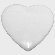 Плитка керамическая в виде сердца, 13 см