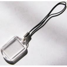 Акриловый фото-брелок для мобильных телефонов