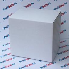 Коробка для кружек, простая, белая