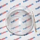 Ёлочный шар под полиграфическую вставку, 10 см (Уценка, см. описание)