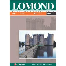 Фотобумага матовая односторонняя Lоmond 0102001 (A4, 210x297 см, 90 г/кв.м, 100 листов)