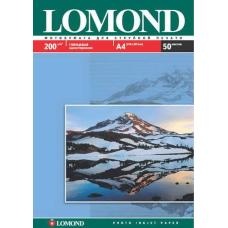 Фотобумага глянцевая односторонняя Lоmond 0102020 (A4, 210x297 см, 200 г/кв.м, 50 листов)