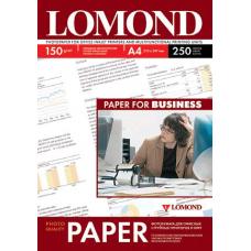 Фотобумага глянцевая односторонняя Lоmond 0102133 (A4, 210x297 см, 150 г/кв.м, 250 листов)