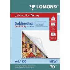 Фотобумага сублимационная полулипкая Lomond 0809414 (A4, 90 г/кв.м, 100 листов)