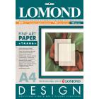 Фотобумага матовая односторонняя Lоmond Design Textile 0919041 (A4, 200 г/кв.м, 10 листов, с тиснением Ткань)