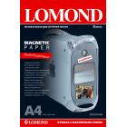 Фотобумага матовая с магнитным слоем Lоmond 2020346 (A4, 620 г/кв.м, 2 листа)