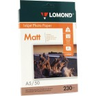 Фотобумага матовая Lоmond 0102069 (А5, 230 г/кв.м, 50 листов)