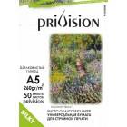 Фотобумага шелковистый глянец (Шелк) Privision (A5, 260 г/кв.м, 50 листов)