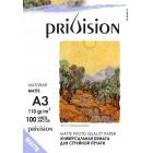 Фотобумага матовая Privision (A3, 110 г/кв.м, 100 листов)