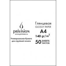Фотобумага глянцевая односторонняя в экономичной упаковке Privision (A4, 140 г/кв.м, 50 листов)