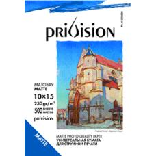 Фотобумага матовая односторонняя Privision (10x15 см, 230 г/кв.м, 500 листов)