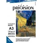 Фотобумага матовая Privision (A3, 120 г/кв.м, 50 листов)