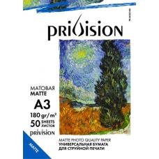 Фотобумага матовая односторонняя Privision (A3, 230 г/кв.м, 50 листов)