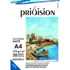 Фотобумага матовая Privision (A4, 170 г/кв.м, 50 листов)
