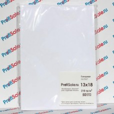 Фотобумага глянцевая односторонняя ProfiSale.ru Эконом (13x18 см, 210 гр, 50 листов)