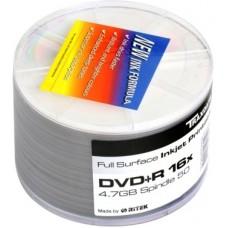 Диск DVD+R 4.7ГБ 16x CMC, Full InkJetprint (50шт./уп.)