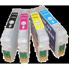 Перезаправляемые картриджи T0921-T0924 для Epson Stylus C91, CX4300, T26, T27, TX106, TX109, TX117, TX119 (авточипы)