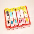 Перезаправляемые картриджи RDM BCI-6 для Canon iP6000d, i950, i905d, i965, s800, s820d, s830d, bjc8200, i9100, s900, s9000 (без чипов)