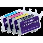 Перезаправляемые картриджи T0551-T0554 для Epson Stylus Photo R240, R245, RX250, RX420, RX425, RX430, RX520, RX530 (авточипы)