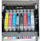 Перезаправляемые картриджи T0540-0544/Т0547-0549 для Epson Stylus Photo R800, R1800 (авточипы)